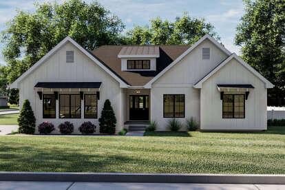 3 Bed, 2 Bath, 1678 Square Foot House Plan #963-00445