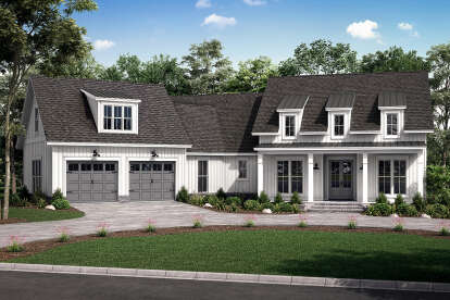 3 Bed, 2 Bath, 2301 Square Foot House Plan #041-00232