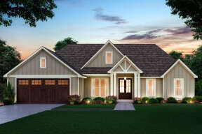 Craftsman House Plan #4534-00037 Elevation Photo