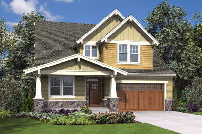 5 Bed, 3 Bath, 3770 Square Foot House Plan - #2559-00866