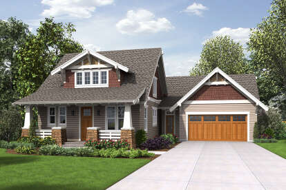 3 Bed, 2 Bath, 2292 Square Foot House Plan #2559-00884
