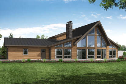 2 Bed, 2 Bath, 3120 Square Foot House Plan - #035-00871