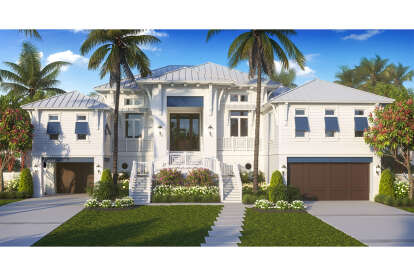 4 Bed, 4 Bath, 4124 Square Foot House Plan - #1018-00288