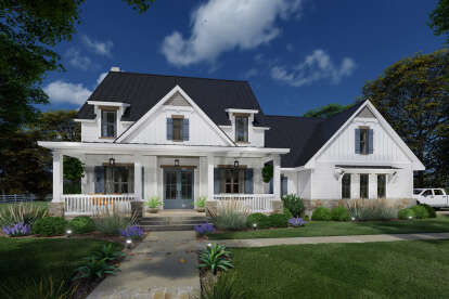 3 Bed, 3 Bath, 2526 Square Foot House Plan - #9401-00112