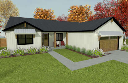3 Bed, 2 Bath, 1999 Square Foot House Plan #1462-00031