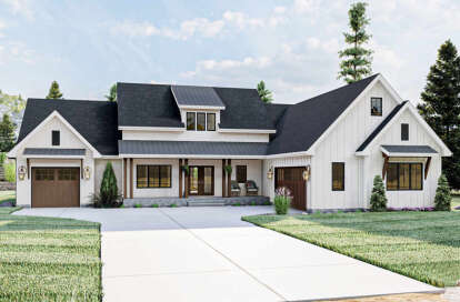 3 Bed, 2 Bath, 2301 Square Foot House Plan - #963-00451