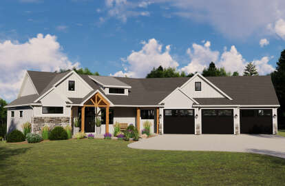 1 Bed, 1 Bath, 1789 Square Foot House Plan - #5032-00044