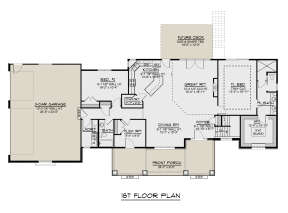 Main Floor for House Plan #5032-00049