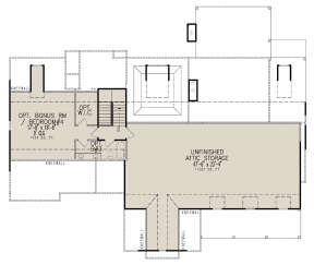 Second Floor for House Plan #699-00284