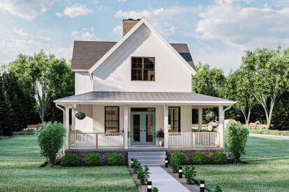 3 Bed, 2 Bath, 2627 Square Foot House Plan - #963-00456