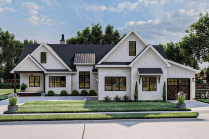 3 Bed, 2 Bath, 2572 Square Foot House Plan - #963-00459