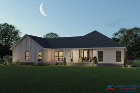 Modern Farmhouse House Plan #041-00235 Elevation Photo