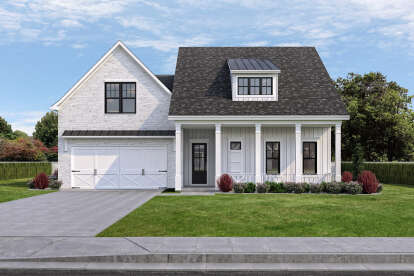 3 Bed, 2 Bath, 2334 Square Foot House Plan - #7516-00054