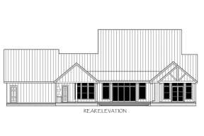 Modern Farmhouse House Plan #4534-00042 Elevation Photo