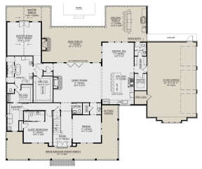 Main Floor for House Plan #4534-00042