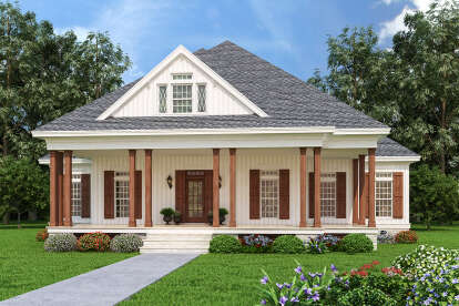 3 Bed, 2 Bath, 1608 Square Foot House Plan - #048-00276