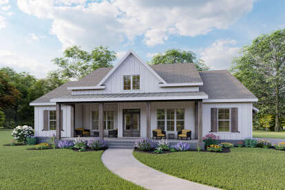 3 Bed, 2 Bath, 2219 Square Foot House Plan - #009-00298