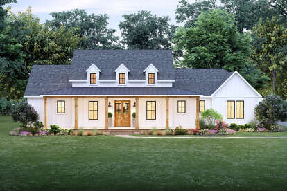 4 Bed, 2 Bath, 2232 Square Foot House Plan - #4534-00045