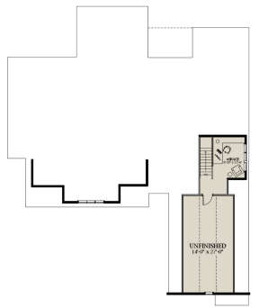 Optional Second Floor for House Plan #6849-00098