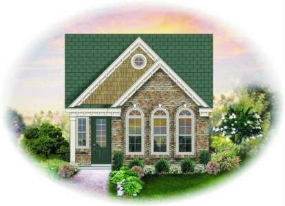 3 Bed, 2 Bath, 1360 Square Foot House Plan - #053-00257