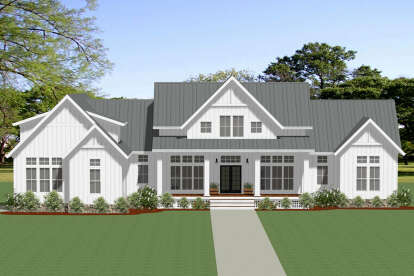 3 Bed, 3 Bath, 2683 Square Foot House Plan - #6849-00102