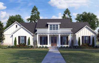 4 Bed, 2 Bath, 2234 Square Foot House Plan - #4534-00053