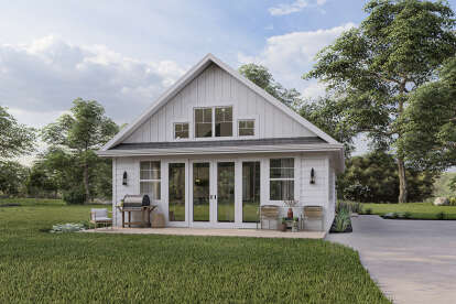 2 Bed, 2 Bath, 1200 Square Foot House Plan - #1462-00032