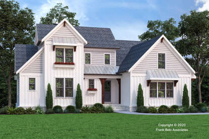 4 Bed, 4 Bath, 2575 Square Foot House Plan - #8594-00449