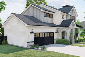 Modern Farmhouse House Plan #963-00531 Elevation Photo