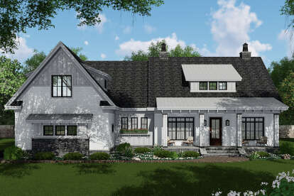 4 Bed, 3 Bath, 2480 Square Foot House Plan - #098-00331