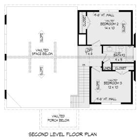 Second Floor for House Plan #940-00336