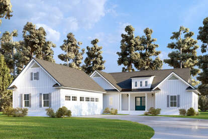 4 Bed, 4 Bath, 3059 Square Foot House Plan - #286-00115