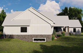 Modern Farmhouse House Plan #5032-00098 Elevation Photo