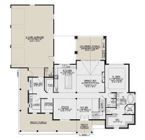 Main Floor for House Plan #5032-00098