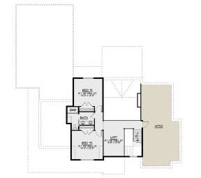Second Floor for House Plan #5032-00098