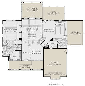 Main Floor for House Plan #8594-00451