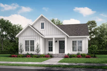 2 Bed, 2 Bath, 1254 Square Foot House Plan - #041-00249