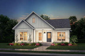 Modern Farmhouse House Plan #041-00249 Elevation Photo