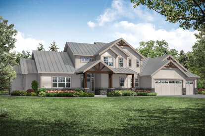 3 Bed, 3 Bath, 3066 Square Foot House Plan - #035-00930