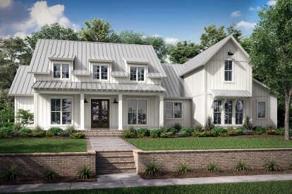 4 Bed, 3 Bath, 2989 Square Foot House Plan - #041-00253