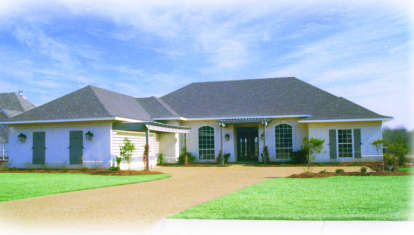 4 Bed, 2 Bath, 2442 Square Foot House Plan - #046-00251