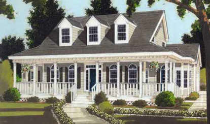 5 Bed, 3 Bath, 2658 Square Foot House Plan #033-00057