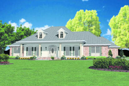 3 Bed, 3 Bath, 2981 Square Foot House Plan - #046-00277