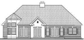 French Country House Plan #033-00061 Elevation Photo