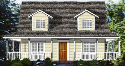 4 Bed, 2 Bath, 1863 Square Foot House Plan - #033-00062