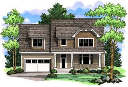3 Bed, 2 Bath, 2839 Square Foot House Plan - #098-00017