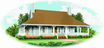 3 Bed, 3 Bath, 2300 Square Foot House Plan - #053-00411