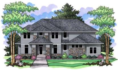 4 Bed, 2 Bath, 3170 Square Foot House Plan - #098-00022