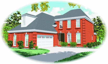 3 Bed, 2 Bath, 2150 Square Foot House Plan - #053-00430