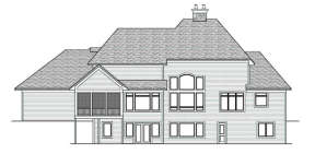 Traditional House Plan #098-00029 Elevation Photo